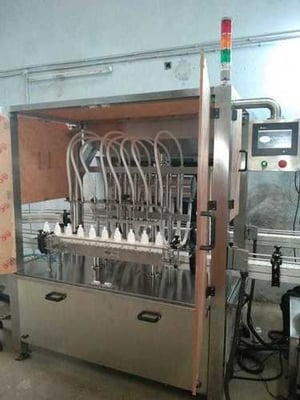 Cosmetic Lotion Filling Machine