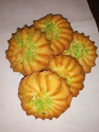 Green Flower Biscuit