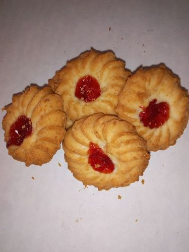 Jam Flower Biscuit