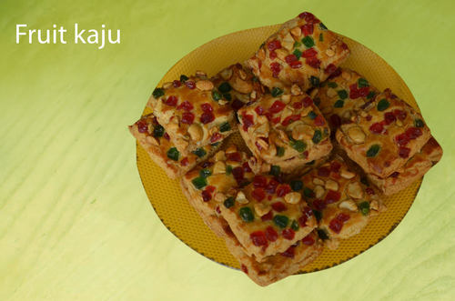 Fruit Kaju Cookies