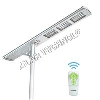 5000 Lumens Fully Automatic Remote Controlled All-In-One LED Solar Street Light