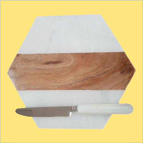 Wood Marble Chopping Board