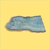 Blue Agate Platter Stone