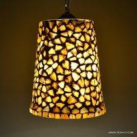 Seap Hanging Lamp Shaped Seap Glass Hanging Light Seap Glass Hanging Lamp