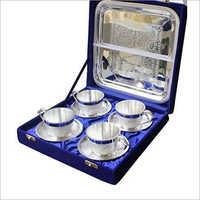 Silver Plated Cup Set