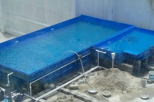 L-Shaped Swimming Pool