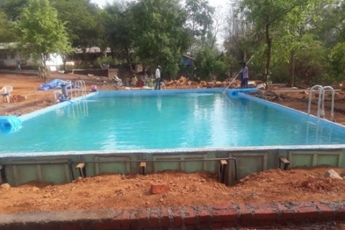 Resort Prefabricated Swimming Pool