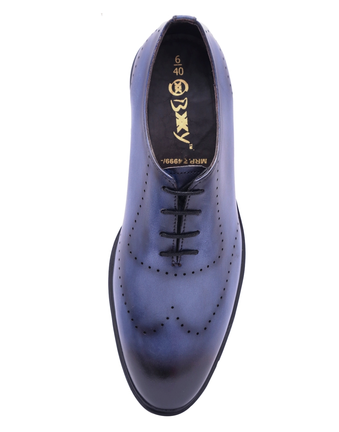 MEN`S HIGH FASHION LEATHER LACE-UP SHOES