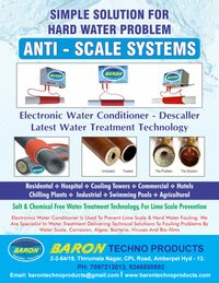 Electronic Water Conditioner