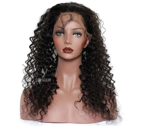 Indian Temple Hair 360 Lace Frontal