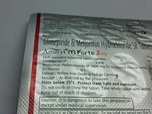 glimepiride metformin hydrocloride