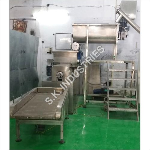 Macaroni Pasta Making Machine 200 Kgh