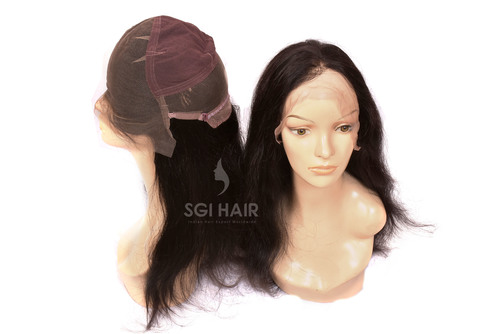Indian Temple Hair Full Lace Wig