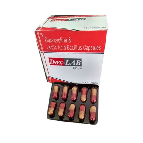 Doxycycline And Lactic Acid Bacillus Capsules