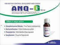 Chlorpheniramine maleate- phenylephrine HCL- Dextromethorphen HCC- Guaiphenesin