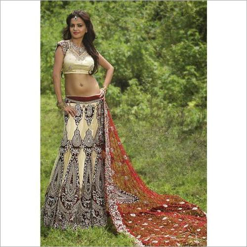 Ladies Swarovski Designer Lehenga