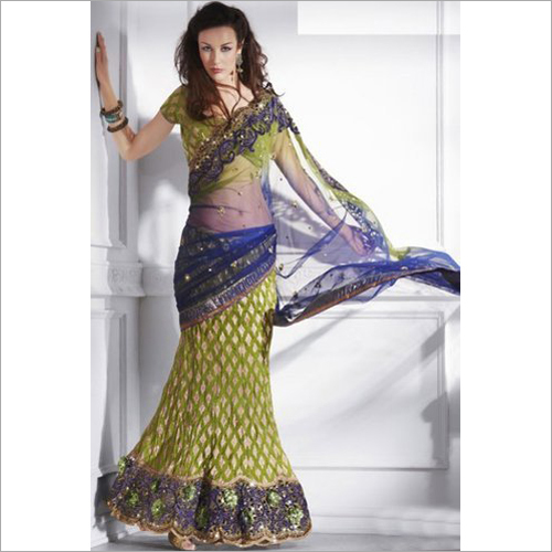 Ladies Embriodery Work Sarees
