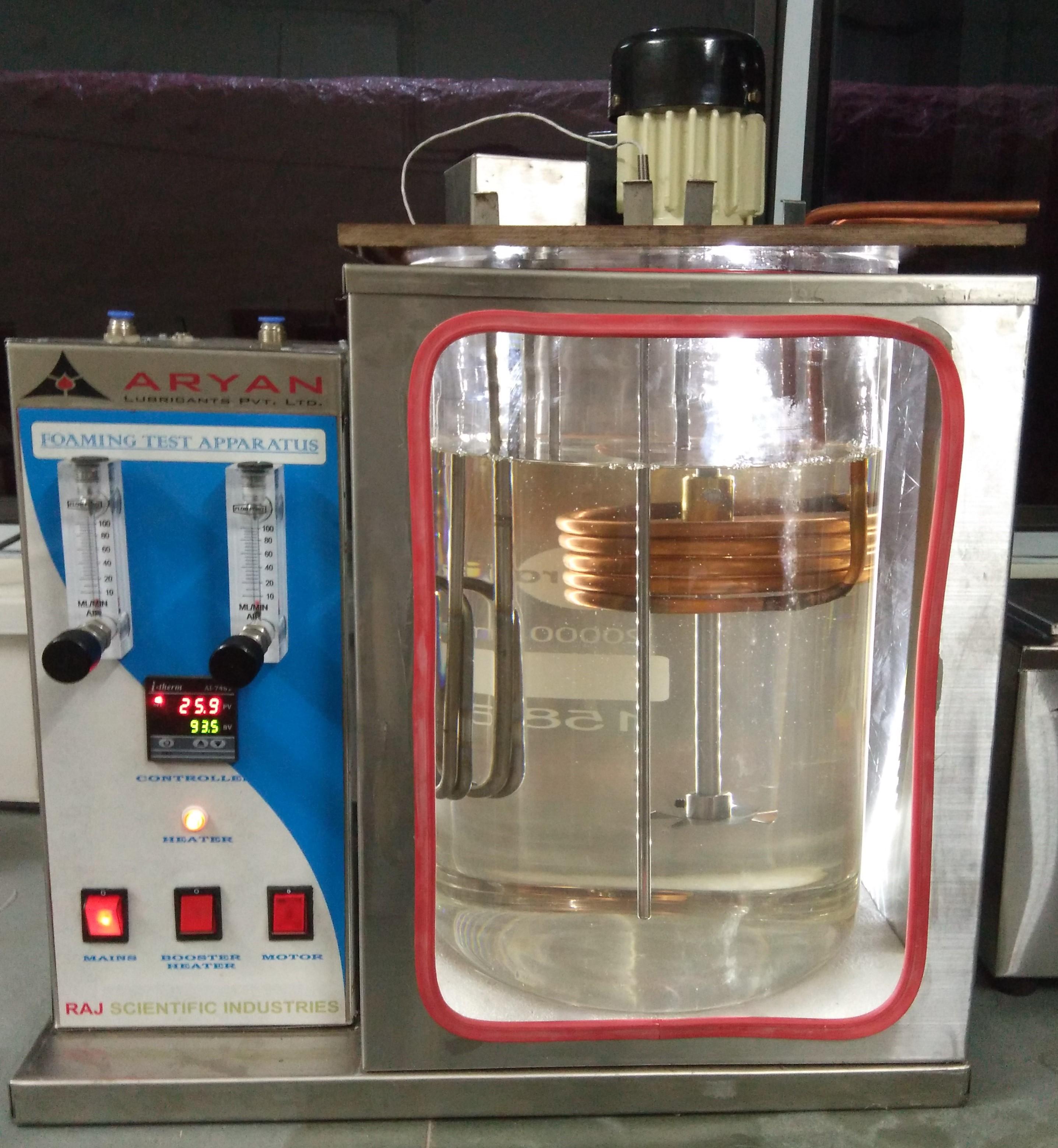Foaming Test Apparatus