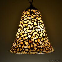 Seap Hanging Lamp Ganta Glass Seap Glass Hanging