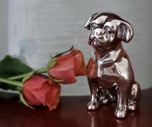 Dog Pet Figurine Urn