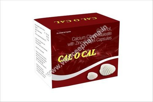Calcitriol, Calcium Citrate Malate with Zinc Softgel capsules