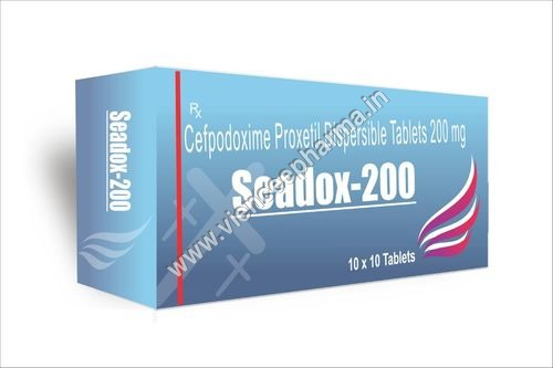 Cefpodoxime proxetil Dispersible Tablets 200mg