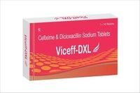 Cefixime  & Dicloxacillin Sodium Tablets