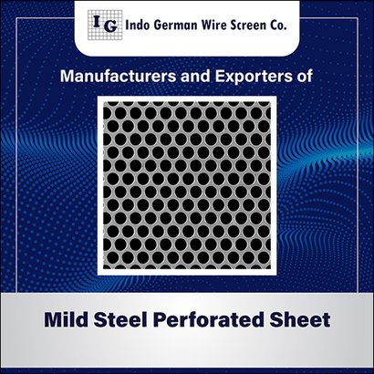 Mild Steel Perforated Sheet Application: For Industrial