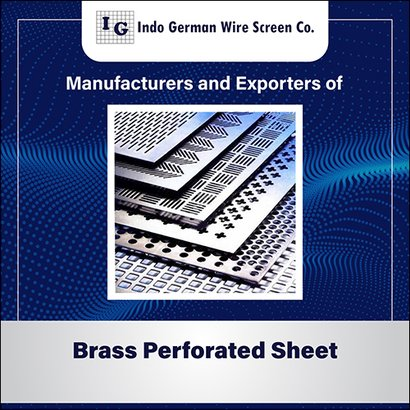 Brass Perforated Sheet Application: For Industrial
