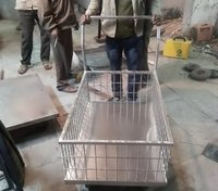 Platform Trolley Stainless Steel