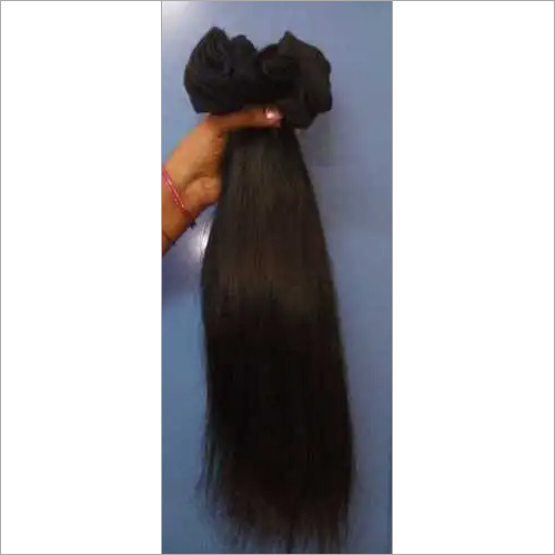 Natural yaki straight hair