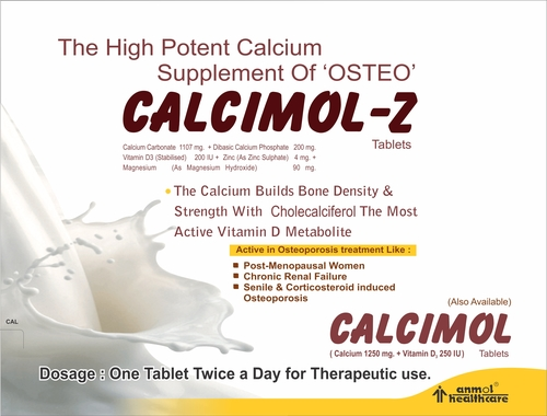 Calcium Carbonate Tablets