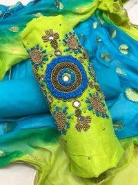 Hand Work Dress Materials