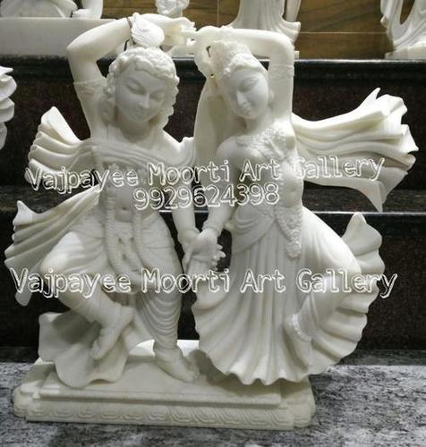 Radhe Krishna Marble Idol
