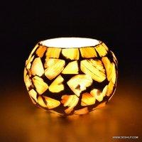 Decor Lighting Seap Glass Small Candle Holder