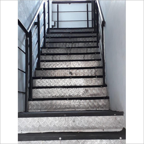 Mild Steel Stair Fabrication Works