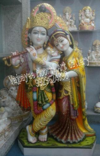 Krishna Radha Marble Moorti Supplier