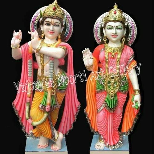 Lord Radhe Krishna Marble