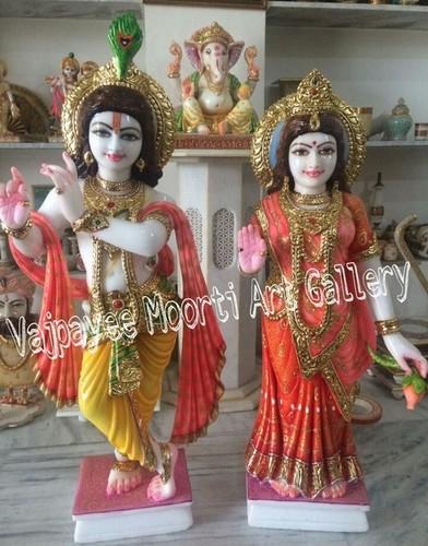 Lord Krishna Radhe Idol