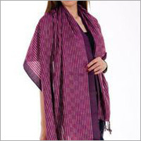 Purple Cotton Shawls