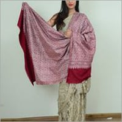 Ladies Pink Pashmina Shawl