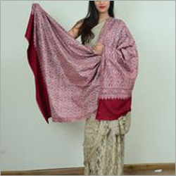 Ladies Pink Pashmina Shawl
