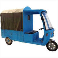 Electric operated  Rickshaw
