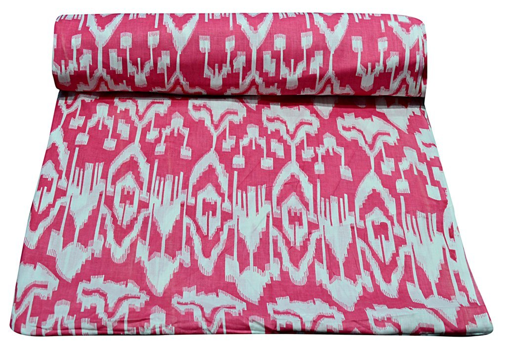 Ikat Printed 100% Cotton Running Sewing Fabric