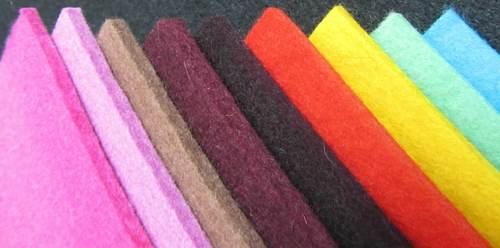 Wool Colored Felt