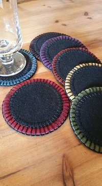 Wool Felt Coasters