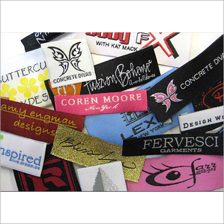 Printed Satin Labels
