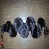 Remy Single Drawn Machine weft Hair