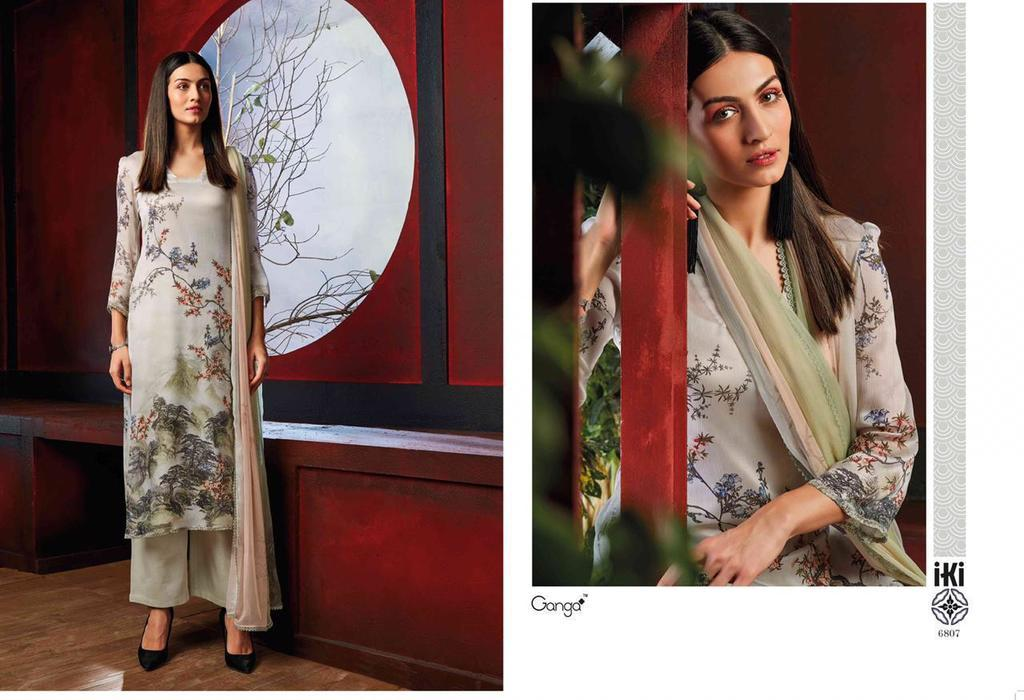 Pure Silk Printed Suits