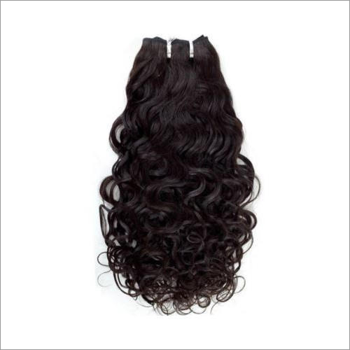 Machine Weft Curly Hair Extension